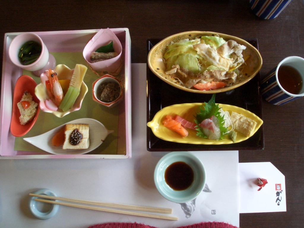 10周年記念茶話会 料理